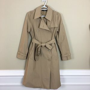 Norma Kamali Classic Belted Trench Coat Woman's M